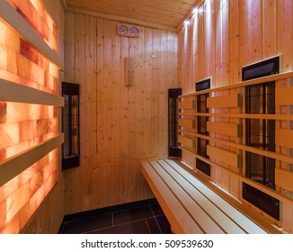 Empty infra sauna