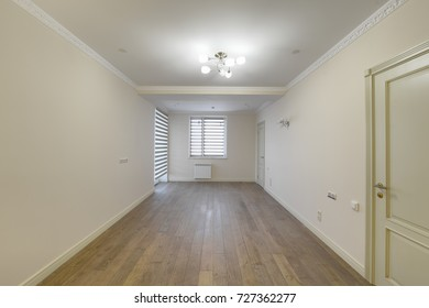 empty interior in modern house