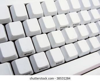 Empty keyboard
