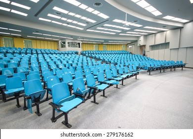 An empty large lecture room / University classroom