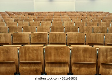 empty lecture hall