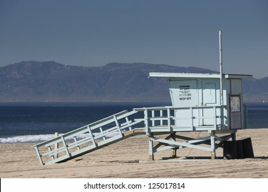 Empty Life Guard Tower