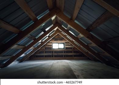 empty loft, interior background