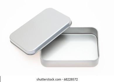 Empty metal box