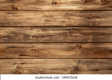 Empty natural brown wooden background.