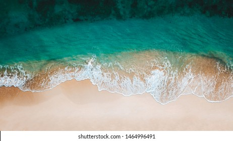 Empty Ocean View from above