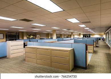 Empty Office Space Ready to Occupy