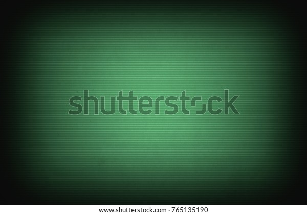 Empty Old Computer Terminal Screen Background Stock Photo