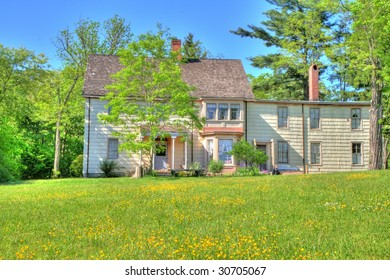 empty old house in the country
