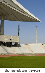 Empty Olympic Stadium