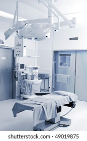 Empty operative room ready to work
