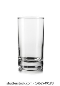 Empty ouzo glass, close up