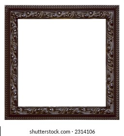 "empty picture frame isolated on white ""Clipping Paths"""