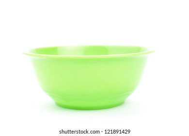 empty plastic bowl