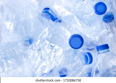 empty plastic water bottle from polyethylene by human in waste pollution for recycle and reusable package concept plastic recycle world material industrial for ecology and environment