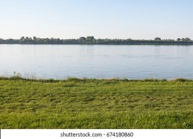 empty river bank