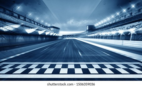 empty road track scene background