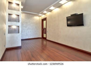 empty room after repair