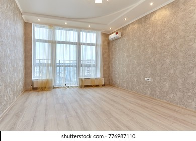 empty room after repair