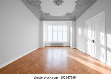 empty room in beautiful apartment - real estate interior