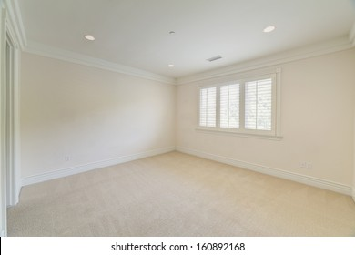 Empty room in a house.