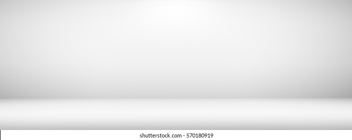 Empty room with light gradient blank interior for creative project simple copy space backdrop or background design