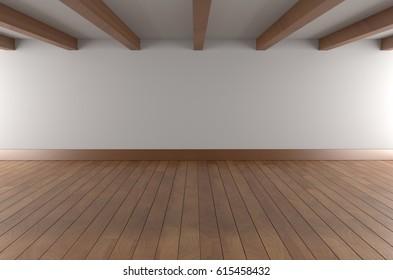 Empty room, Mock up, 3D Rendering