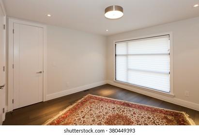Empty room in new luxury house
