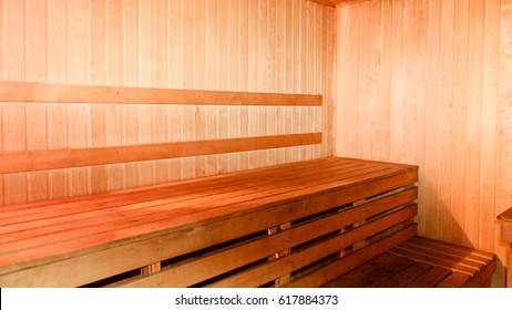 empty room in the sauna, Spa treatment