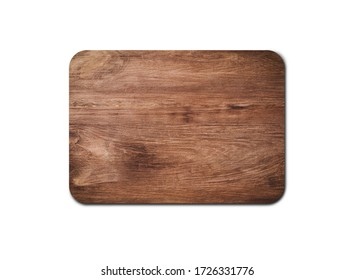 Empty rustic wood board texture isolated on white background with copy space for design or work. clipping path