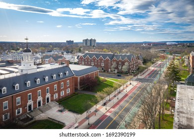 Empty Rutgers University During Coronavirus Pandemic