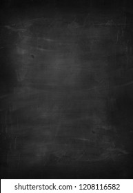 Empty schoolboard background full screen texture with space for own text