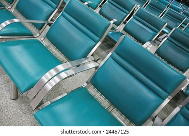 empty seat in airport