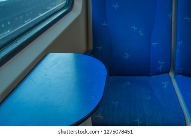 Empty Seat Inside A NS Train Station At Amsterdam The Netherlands 2018