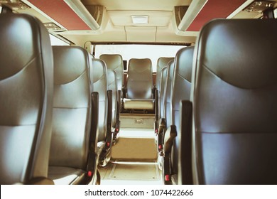 empty seats on the bus