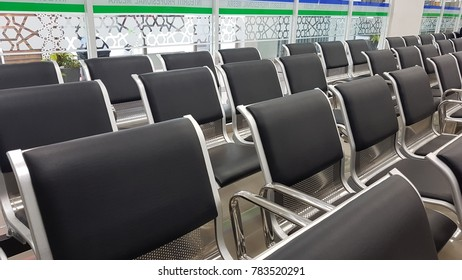 Empty seats on immigration office
