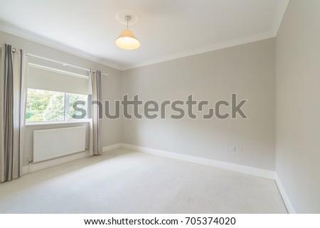 Empty Small Bedroom Stock Photo Edit Now 705374020 Shutterstock