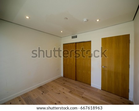 Empty Small Bedroom Modern Style Interior Stock Photo Edit Now