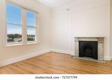 Empty spacious room