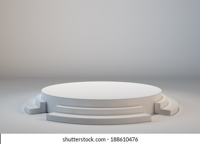 Empty stage set background