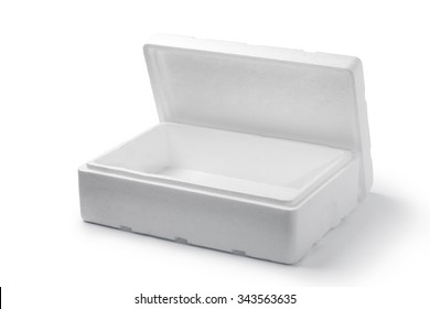 Empty styrofoam box