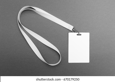 Empty Tag id on a gray background.