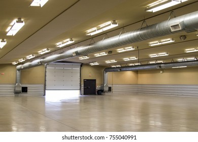 Empty Warehouse Space