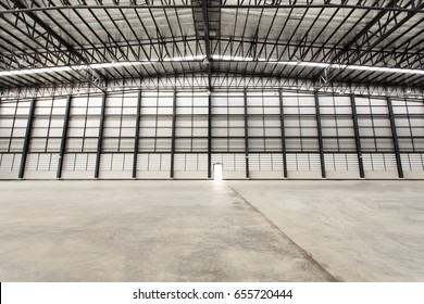 Empty warehouses