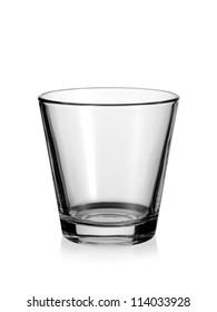Empty water glass