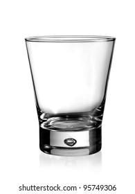 Empty whiskey glass