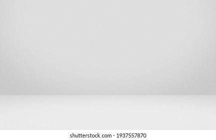 Empty white gray color texture pattern cement wall studio background. Used for presenting cosmetic nature products for sale online. - Shutterstock ID 1937557870