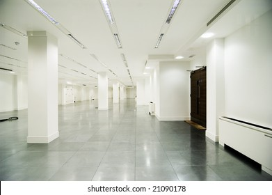 empty white office in white colour