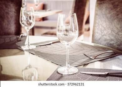 & Nice Semiformal Table Setting Stock Photo (Edit Now)- Shutterstock