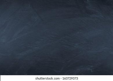 empty wiped slate board